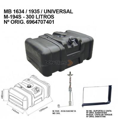 Tanque Gas Oil Mb 300 Lts Plastico M-196   M-195l